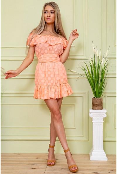 Платье 167R900-1 цвет Персиковый 59238