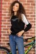 Купить Батник женский  цвет черный 180R560 64195