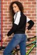 Батник женский  цвет черный 180R560 цена 829.0000 грн