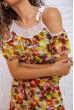 Комбинезон женский 167R22-3 цвет разноцветный скидка