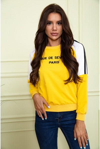 Батник женский  цвет темно-желтый 180R560 64193