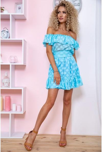 Платье 167R900-1 цвет Голубой 59232