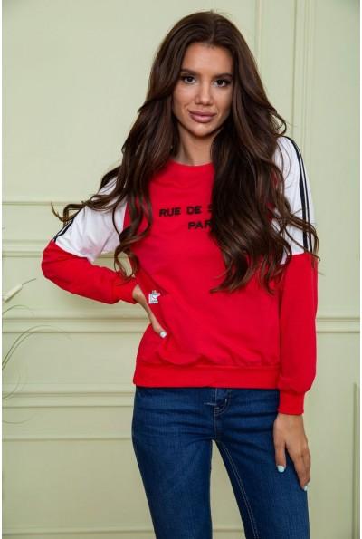 Батник женский  цвет красный 180R560 64185