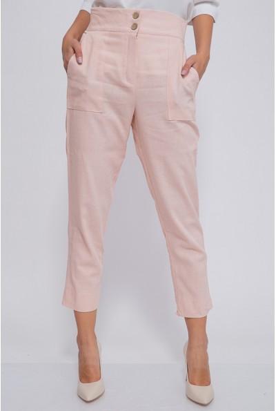 Брюки женские 115R369-3 цвет Персиковый