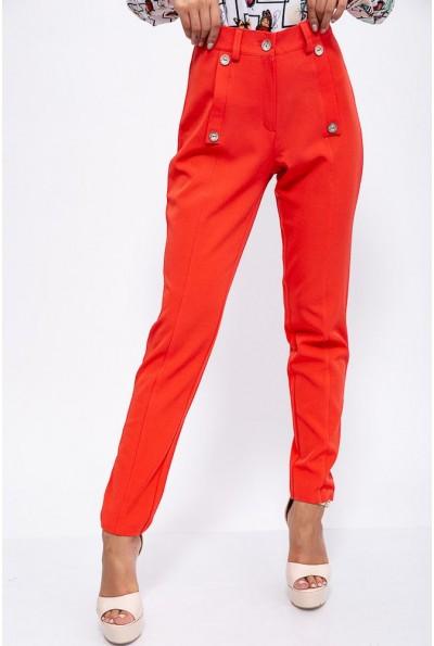 Брюки женские 150R099 цвет Красный 37717