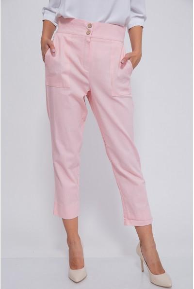Брюки женские 115R369-3 цвет Светло-розовый