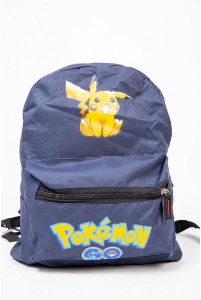 Рюкзак Покемон Пикачу Pokemon Go Pikachu Синий 154R003-41-4 53848