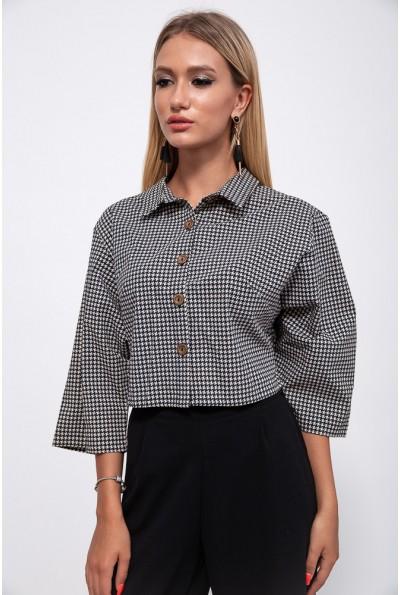 Пиджак женский 115R220-23 цвет Черно-белый