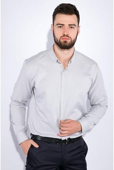 Хлопковая мужская рубашка стального цвета 511F011 3449