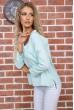 Мятная классическая блузка 177R010 стоимость