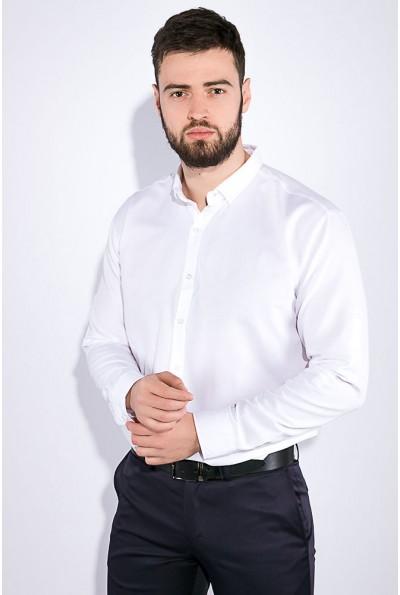 Белая мужская рубашка с длинными рукавами 511F011