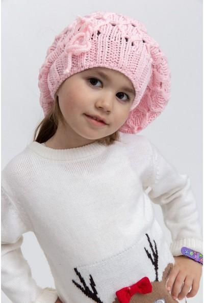 Шапка детская 126R007 цвет Розовый