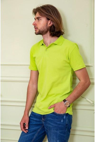 Поло мужское  цвет салатовый 116R107 59561
