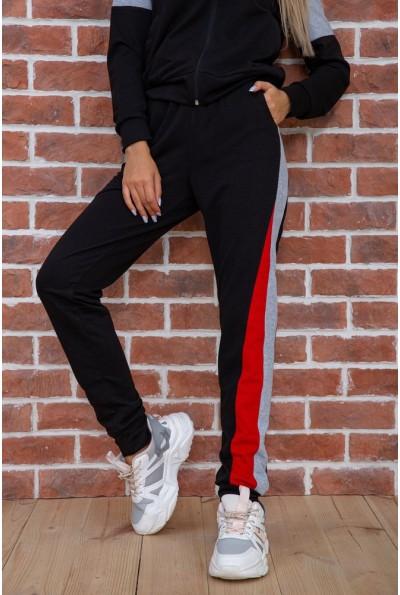 Спорт костюм женский  цвет черно-красный 102R049 58426