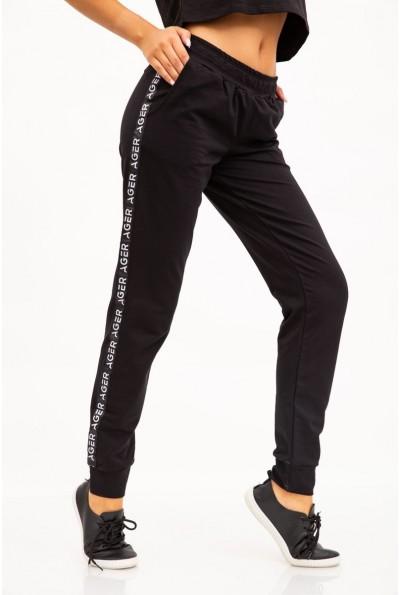 Спорт штаны женские 102R033-1 цвет Черный
