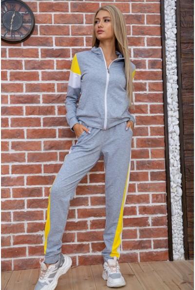 Спорт костюм женский  цвет серо-белый 102R049 58422