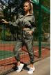 Спортивный  костюм женский 103R2006 цвет Хаки скидка