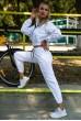 Купить Спортивный  костюм женский 103R2006 цвет Белый