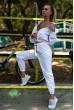 Спортивный  костюм женский 103R2006 цвет Белый недорого