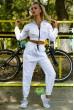 Спортивный  костюм женский 103R2006 цвет Белый скидка