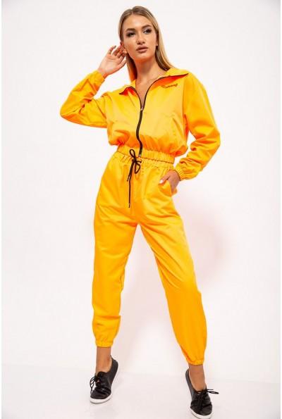 Спортивный  костюм женский 103R2006 цвет Оранжевый