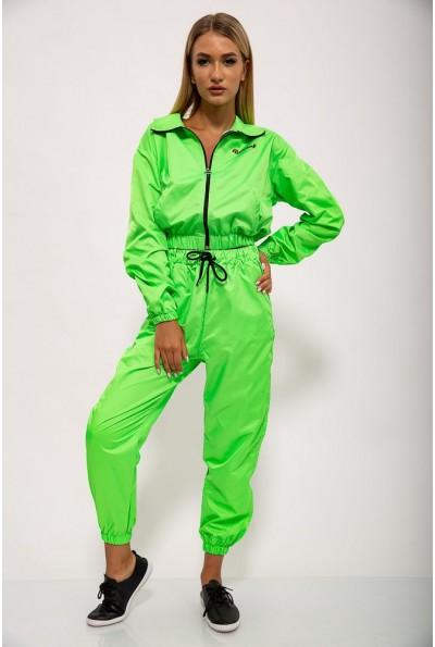 Спортивный  костюм женский 103R2006 цвет Салатовый