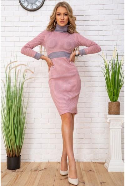 Платье167R1667 цвет Серо-розовый 57007