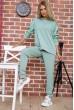Спортивный костюм женский однотонный цвет Оливковый 104R0033 цена 1449.0000 грн