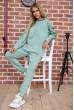 Купить Спортивный костюм женский однотонный цвет Оливковый 104R0033