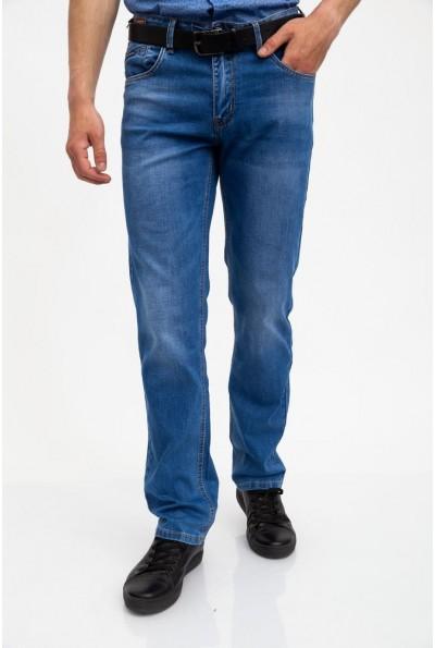 Джинсы мужские синие классические 129R9455