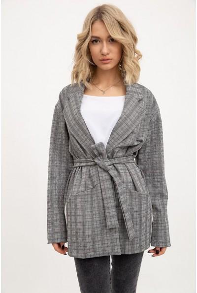 Пиджак женский 115R3041S цвет Серый
