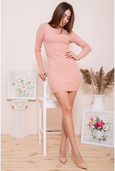 Платье-гольф  цвет персиковый 129R8681-1 46261