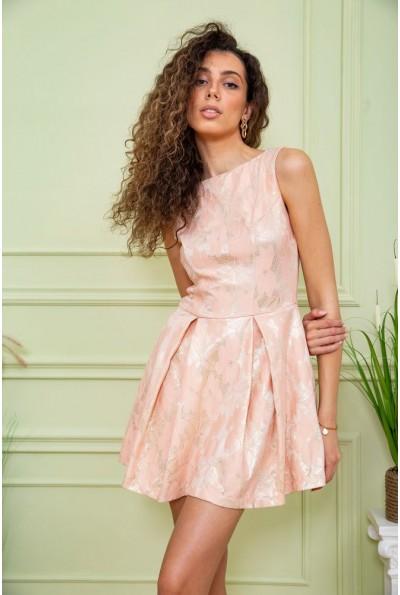 Платье 167R1089-1 цвет Персиковый 59410