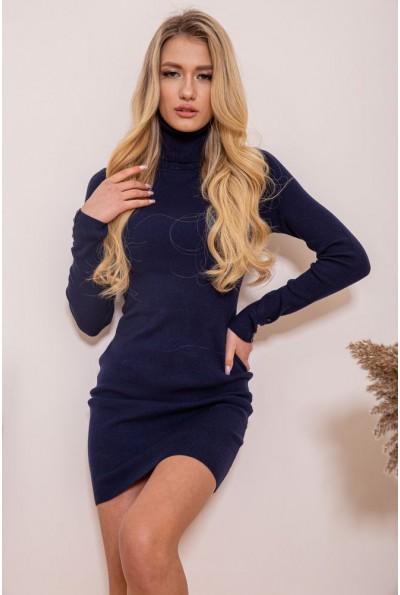 Платье-гольф 129R8681-1 цвет Темно-синий