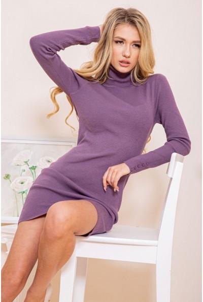 Платье-гольф 129R8681-1 цвет Фиолетовый