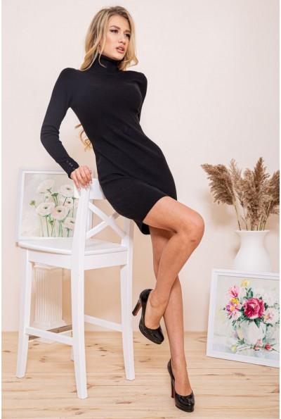 Платье-гольф 129R8681-1 цвет Черный