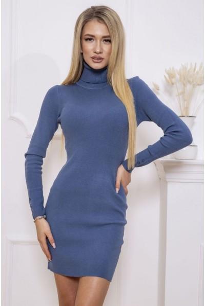 Платье-гольф 129R8681-1 цвет Джинс 46560