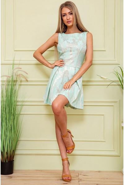 Платье 167R1089-1 цвет Мятный 59448