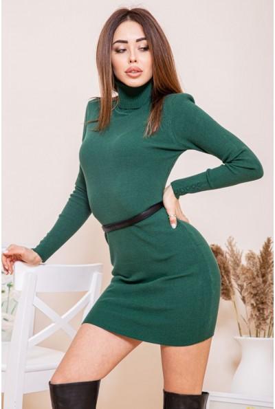Платье-гольф 129R8681-1 цвет Зеленый