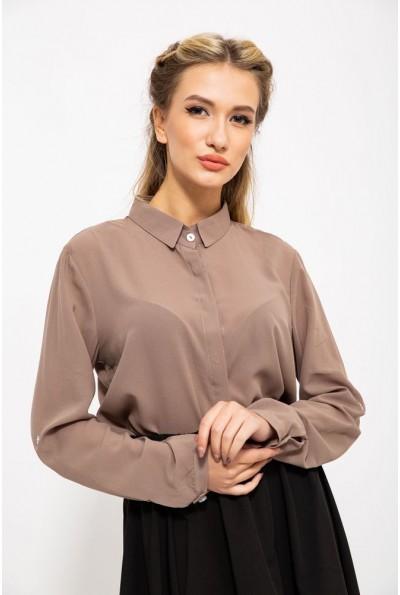 Блуза 115R119-11 цвет Коричневый