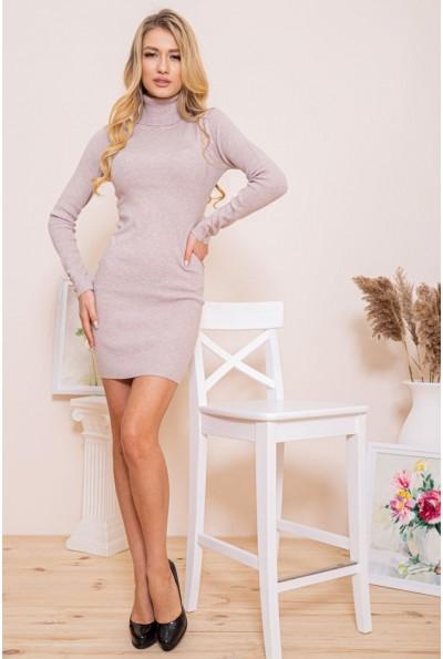 Платье-гольф 129R8681-1 цвет Мокко 46259