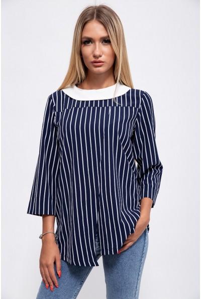 Блуза женская 115R2891-3 цвет Сине-белый