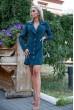 Купить Платье-жакет 102R080 цвет Темно-зеленый 37657