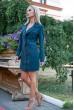 Платье-жакет 102R080 цвет Темно-зеленый недорого