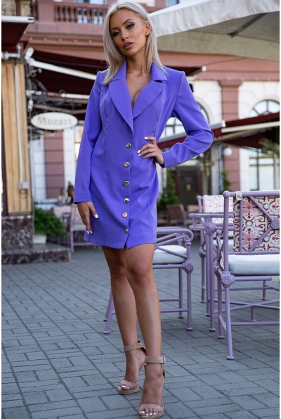 Платье-жакет 102R080 цвет Сиреневый