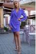 Купить Платье-жакет 102R080 цвет Сиреневый