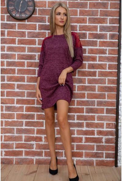 Платье женское  цвет бордовый 102R026 18771