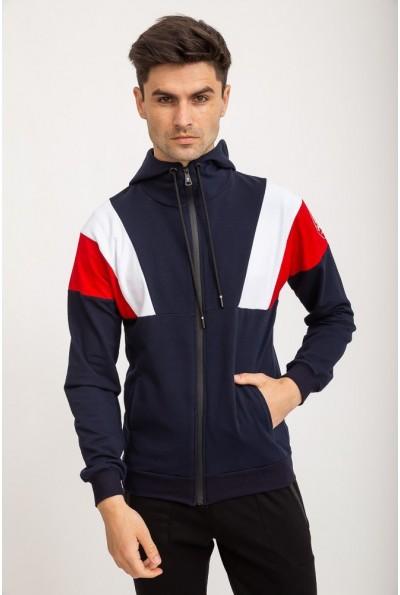 Спорт кофта мужская 119R775 цвет Синий 27720