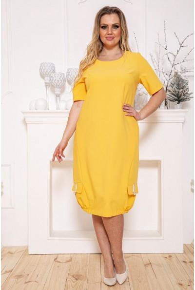 Платье 150R616 цвет Желтый