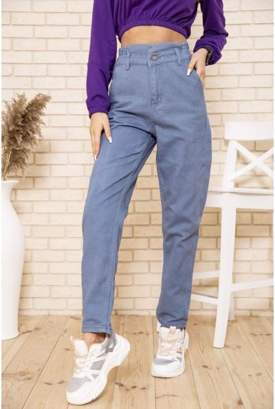 Женские джинсы МОМ с резинкой на талии  164R110 49658
